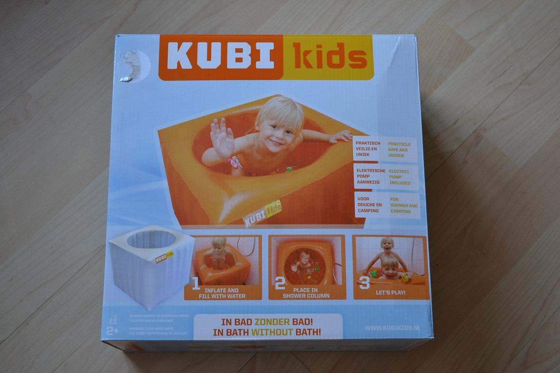 kubikids oranje, in bad zonder bad!