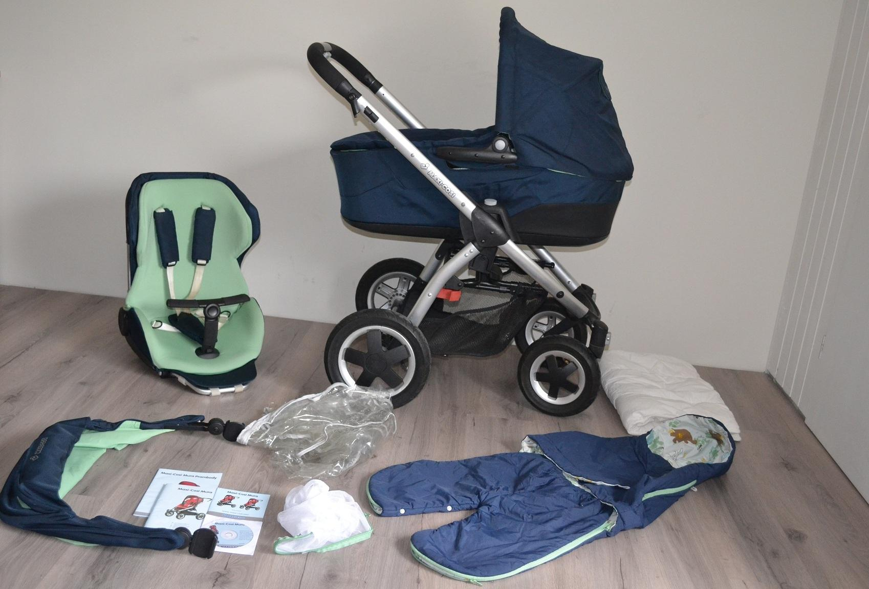Maxi Cosi Mura 4 Fantasy Green combinatie