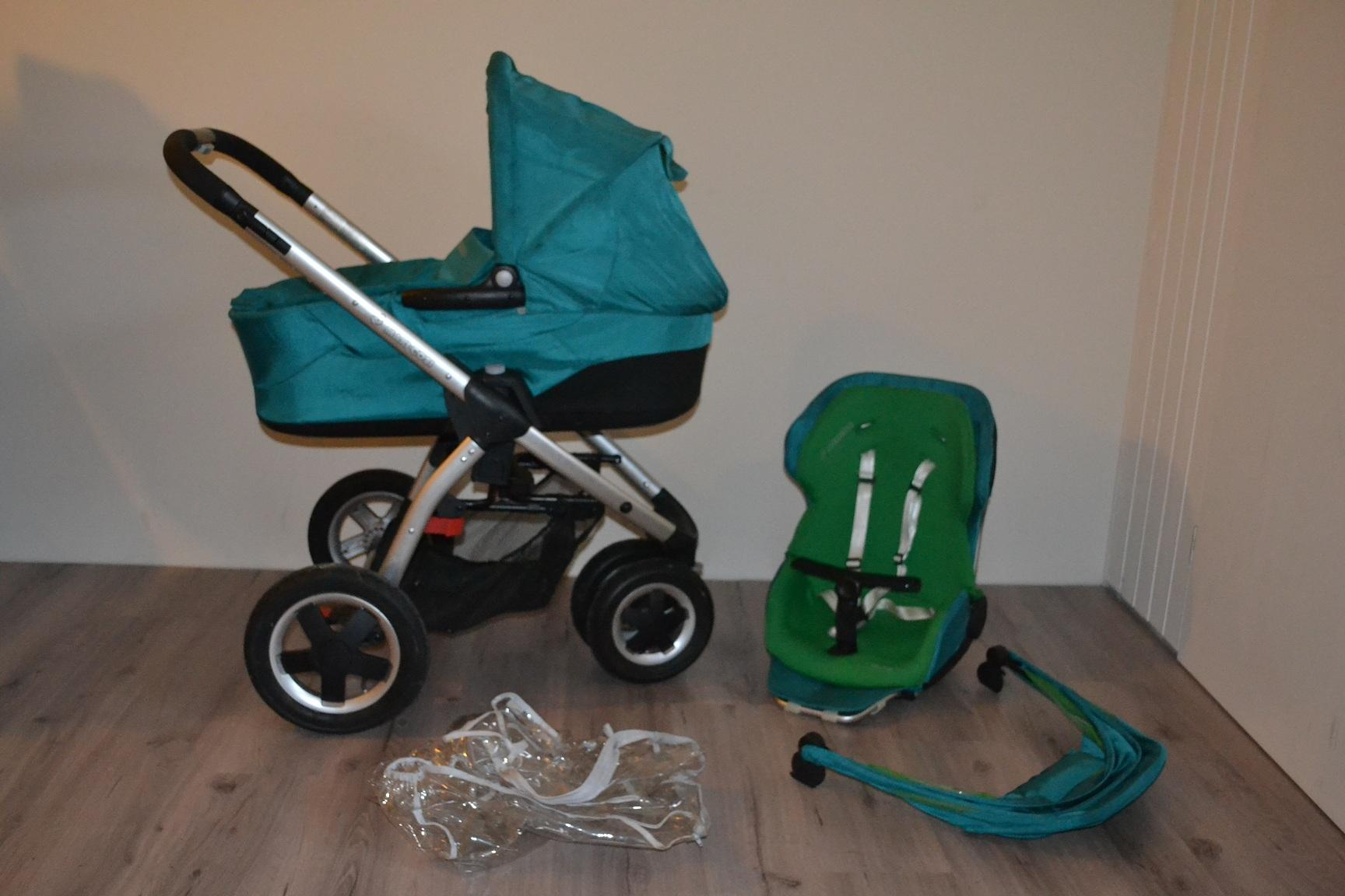 Maxi Cosi Mura 3 Green Slice combinatie